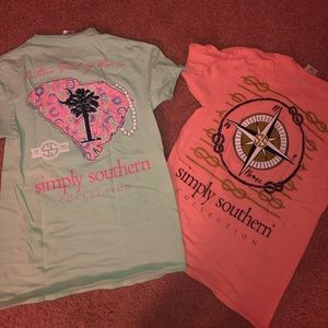 Simply Southern T-shirt's